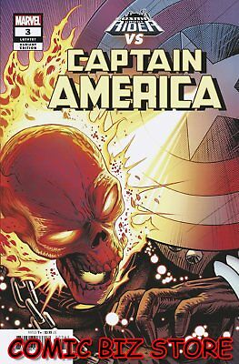 Captain America #3 (2018) 1St Printing Zircher Cosmic Ghost Rider Variant Cover