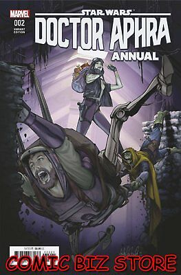 Star Wars Doctor Aphra Annual #2 (2018) 1St Printing Witer Variant Cover ($4.99)