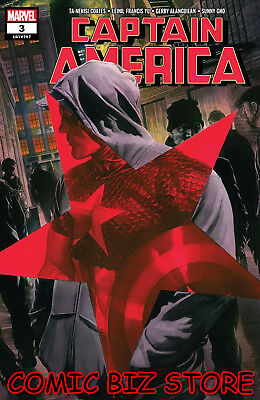 Captain America #3 (2018) 1St Print Main Cover Bagged & Boarded Marvel Comics