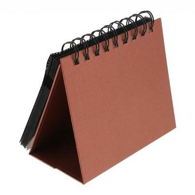 """3"""" 68 Holds Photo Album Calendar Vertical Book for Polaroid Snap Touch Brown"""