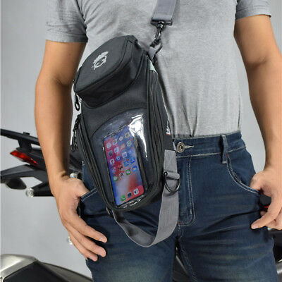 Magnetic Motorcycle Oil Fuel Tank Bag Waterproof 4-Pocket Saddlebag