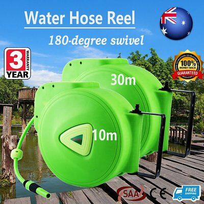 "Automatic Hose Reel including 15m Hot Water Hose ½"" (CAT 79RH) green 10M 30M EDC"