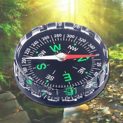New Mini Pocket Survival Liquid Filled Button Compass for Hiking Camping Outdoor
