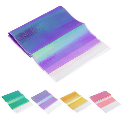 DIY Flash Fishing Fly Lure Skin Tape Holographic Reflective Tackle Art Craft