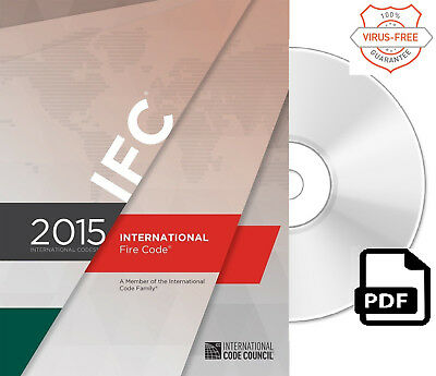2015 International Fire Code (IFC) by ICC (On CD)