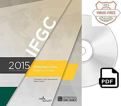 2015 International Fuel Gas Code (IFGC) by ICC (On CD)