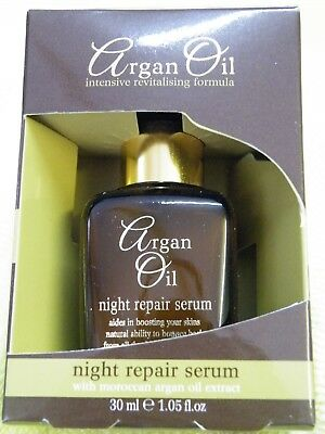 ARGAN OIL INTENSIVE REVITALISING FORMULA FOR SKIN  NIGHT REPAIR SERUM 30ml