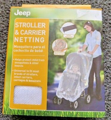 Jeep Stroller Carrier Netting car seat bassinets Misquote Bite Repellent Sealed