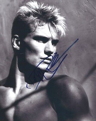 Dolph Lundgren signed 8x10 photo - In Person Proof. CREED,Expendables,Ivan Drago