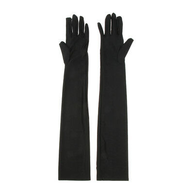 1920s Opera Long Gloves Women Lady Classic Elbow Length Gloves UV Protection