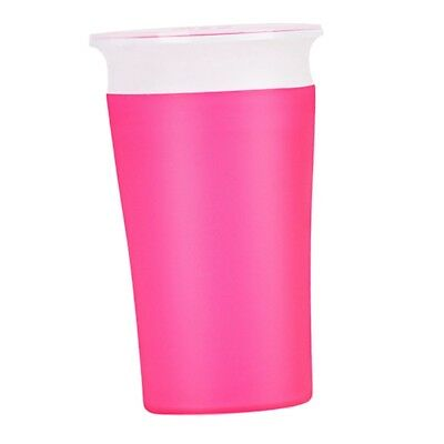 Munchkin Baby Toddler Trainer Drinking Cup Kid 360°Sippy Cup Anti Spill Pink