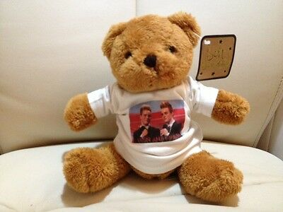 JOHN AND EDWARD TEDDY BEAR Jedward