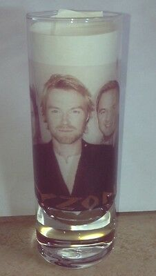 BOYZONE Ronan Keating, Stephen Gately, Keith Duffy, Shane Lynch Mikey SHOT GLASS