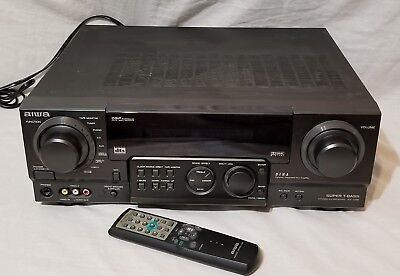 aiwa av d55 pro logic surround home theater stereo receiver w rh picclick com