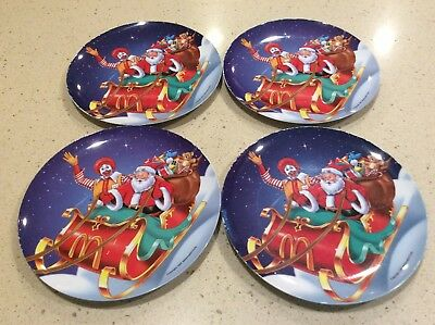 14 Vintage Mcdonalds Decorative Plastic Plates