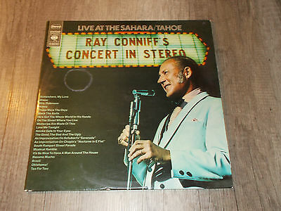 Ray Conniff's Concert in Stereo - Live at the Sahara Tahoe- 2er LP - Vinyl - CBS