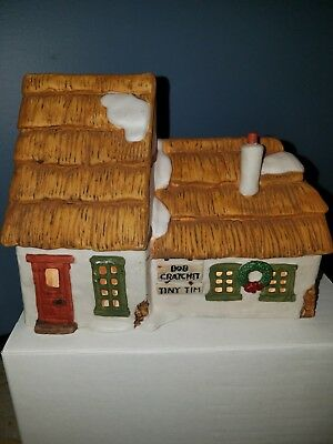 Dept 56 Dickens Village The Cottage of Bob Cratchit and Tiny Tim