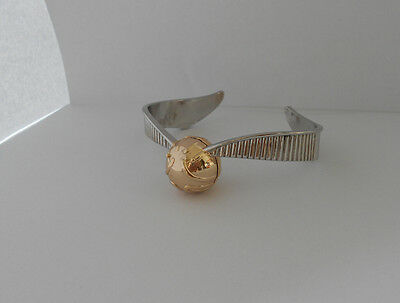 Pulsera Wristband Harry Potter Snitch D'Oro Golden Snitch Quidditch Cosplay 1
