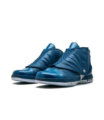 4a76a61ad03621 AIR JORDAN 16 XVI Retro Trophy Room QS French Blue 854255-416 size ...