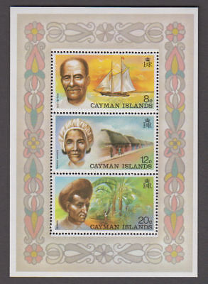 Cayman Is. - 1974 Local Industries S/S Wmk. Inverted. Sc. #351a, SG #363w. Mint