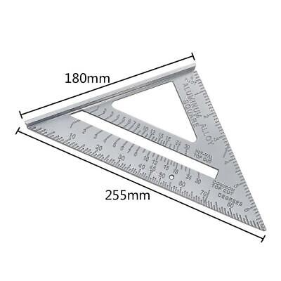 Triangle Ruler and Tools Carpenter's Combination Square Right Angle Ruler