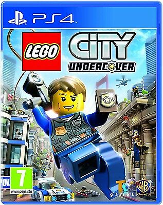 Lego City Undercover PS4 - 7 + Spiel für Playstation 4 Pal UK Brand Neu &
