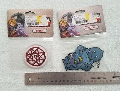 Official Fullmetal alchemist Alphonse and blood symbol iron on/ sew on patch