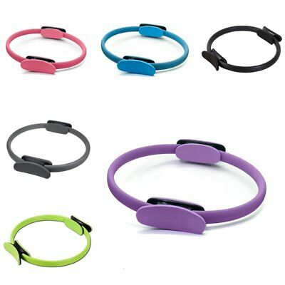 Dual Grip Pilates Ring Magic Circle Muscles Body Exercise Yoga Fitness Product Q