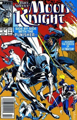 Marc Spector Moon Knight #9 1989 FN Stock Image