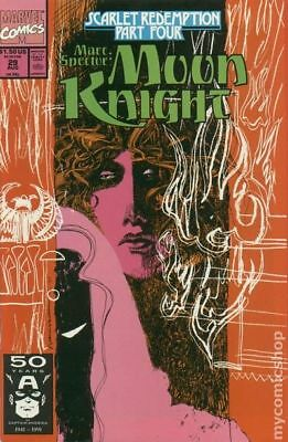 Marc Spector Moon Knight #29 1991 FN Stock Image