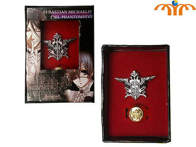 Ring Set Ring Kuroshitsuji Black Butler Ciel Pin Pin Anime Manga Cosplay 1