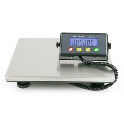 Weigh 440lbs x 100g USPS Digital Shipping Postal Scale Heavy Duty Steel