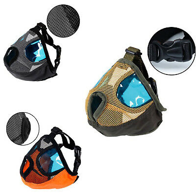Pets Muzzle Face Short Snout Mesh Flat Nose Mouth Cover Anti-Biting Dog New Mask