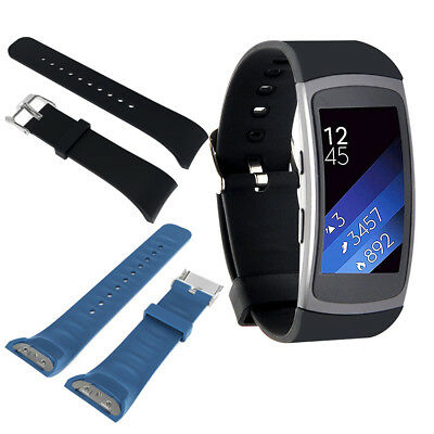 Replacement Silicone Wristband Watch Band Strap For Samsung Gear Fit 2 SM-R360