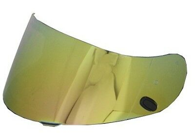 HJC FG-17 HJ-20M Pinlock Ready RST-Mirrored Gold Helmet Replacement Shield Visor