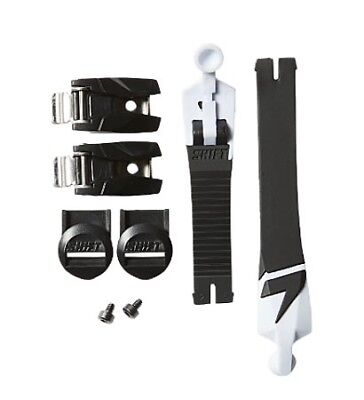 Shift Racing Black Boot Strap Buckle Kit for White Label Boots