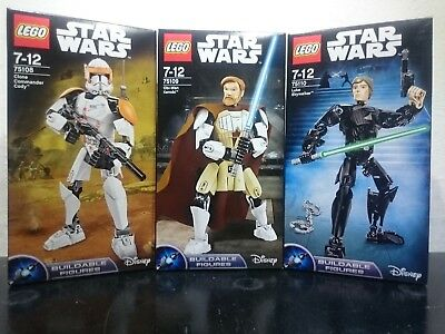 Lego Star Wars Buildable Figures - 75110/75111/75112... (Nuovo,new,misb)