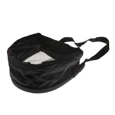 Fly Fishing Stripping Basket Foldable Line String Bag Mesh Bottom Waist Case