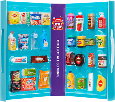 Coles Little Shop Mini Collectables FREE EXPRESS POSTAGE AUSSIE WIDE Price Drop