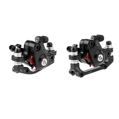 2Pcs Durable Mechanical Disc Brake Cycling Bicycle Front Rear Caliper Rotors