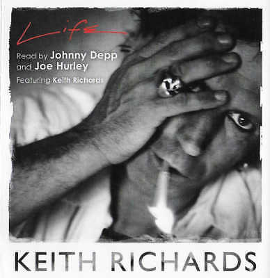 Keith Richards - LIFE Autobiography - Unabridged CD Audio Book - Rolling Stones