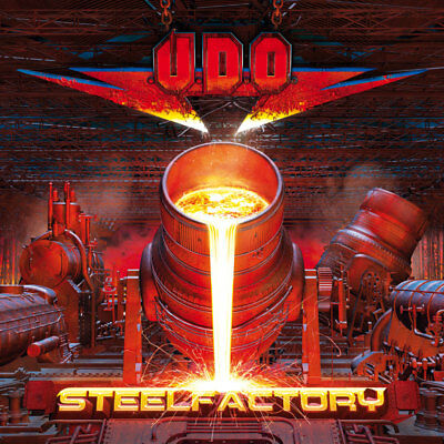 U.D.O. - Steelfactory - Clear Vinyl-2LP - 884860232913