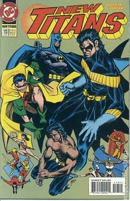 New Teen Titans (2nd Series) New Titans #113 1994 FN Stock Image