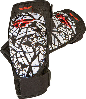 Fly Racing Black/White/Red Mens Barricade Elbow Guard Dirt Bike Protection