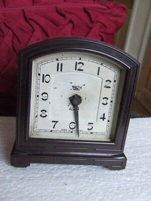Old Smiths Bakelite Electric Alarm Clock