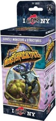 Privateer Monsterpocal Series #2 - I Chomp NY, Monsters & Structures  Pack MINT