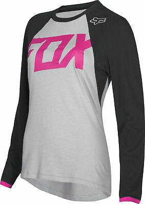 Fox Racing Womens Switch Mata Black/Pink Dirt Bike Jersey Motocross ATV MX