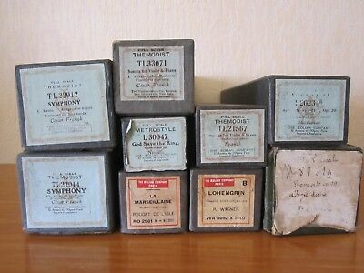 LOT PIANO ROLL DIVERS - THEMODIST METROSTYLE etc