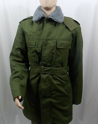 Czech Military M85 Parka with Removable Liner and Hood, Size: Medium New