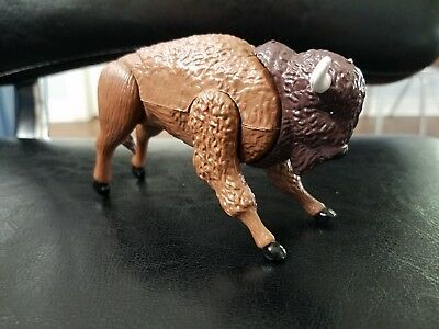 2001 K&M International Bison Buffalo Plastic Figure 4.5""